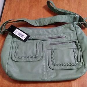 Bueno all leather purse